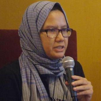 Aktivis Kontras, Yati Andriani dalam diskusi di Jakarta, Sabtu (10/12/2016).