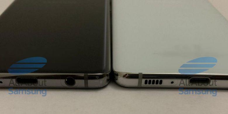 Samsung Galaxy S10 kabarnya masih akan memertahankan jack audio 3,5 mm yang diletakkan di bagian bawah.