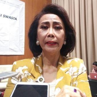 Ketua Pansel KPK Yenti Garnasih di Hotel Morrisey, Jakarta, Rabu (3/7/2019)
