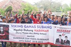 Setelah Sumedang, Giliran Suporter Persib Subang Dukung Hasanah
