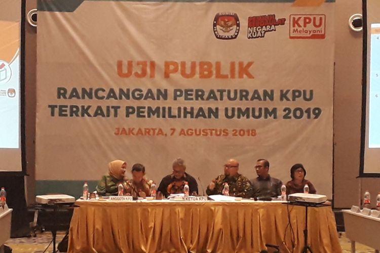 Uji publik rancangan PKPU