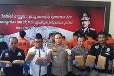 Polisi Sita 36,5 Kg Ganja yang Peredarannya Dikendalikan Napi