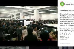 Penonton 'Overload' dan Copet yang Bikin Konser Soundsation di Depok Ricuh..