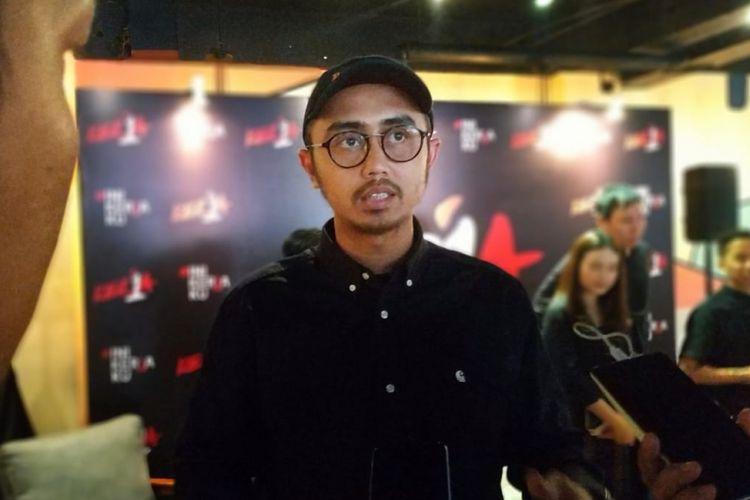 Muhammad Haudy, Co-Founder Never Too Lavish yang mengagas gerakan #IniKerjaKu, di Jakarta, Kamis (8/11/2018).