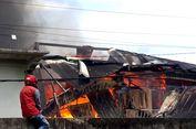 Diduga Korsleting Listrik, Rumah Orangtua Ketua Perindo Palopo Terbakar