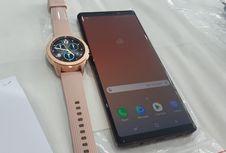 Samsung Patenkan Smartwatch dengan Pemindai Sidik Jari di Layar