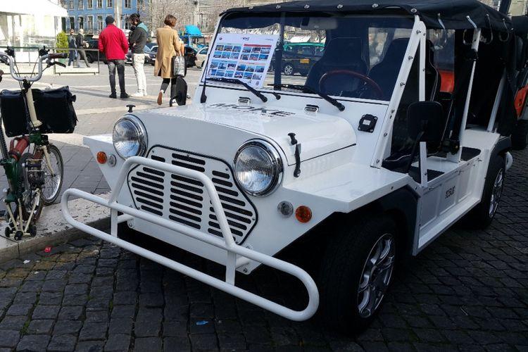 Mini Moke yang Menggunakan Mesin Listrik