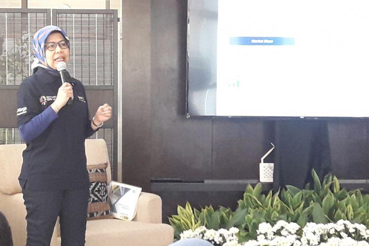 Direktur Utama PT Jasa Marga (Persero) Tbk Desi Arryani.