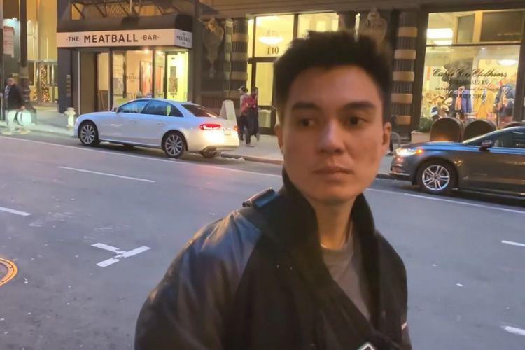 Baim Wong kebingungan saat mobil sewaannya hilang di jalanan San Francisco, AS.
