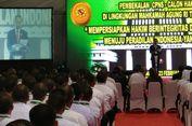 Jokowi Beri Pembekalan kepada 1.591 Calon Hakim