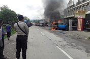 Mekanik Perbaiki Mobil Sambil Merokok, Avanza Terbakar