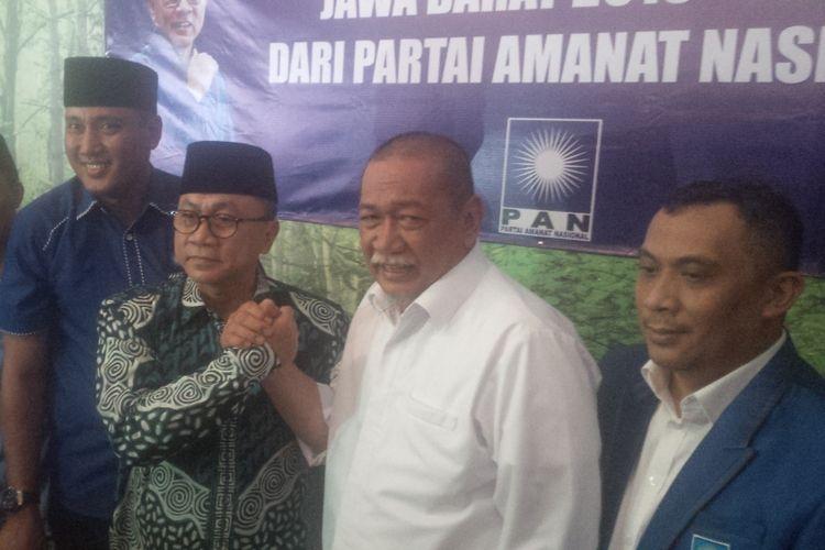 Partai Amanat Nasional (PAN) resmi mengusung Deddy Mizwar sebagai bakal calon Gubernur dalam ajang Pilkada Jawa Barat 2018 mendatang.