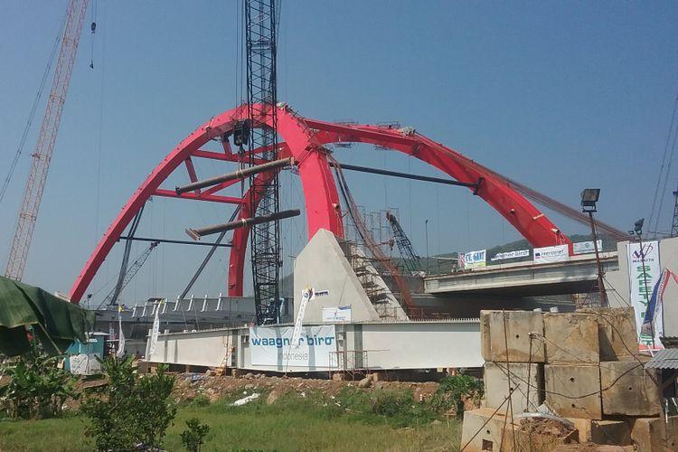 Kondisi terakhir Jembatan Kali Kuto.