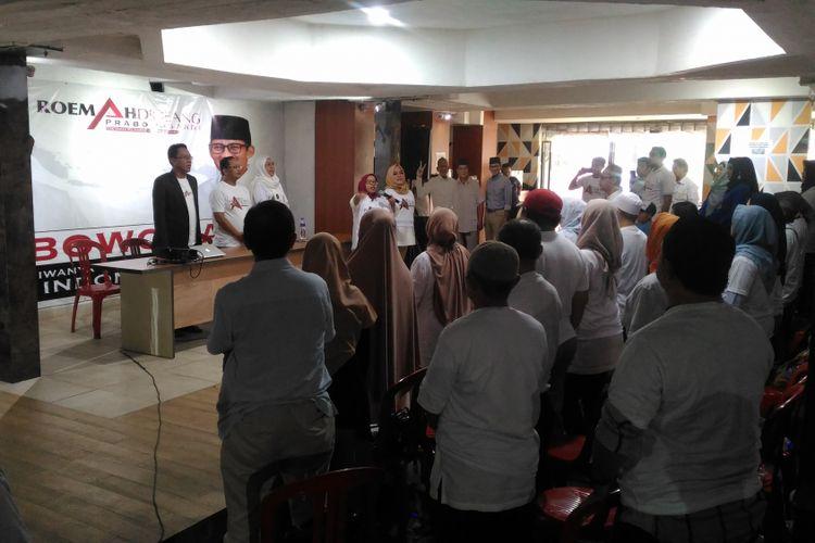 Demi Kemenangan Prabowo, Relawan Rela Rogoh Kocek Pribadi untuk Kampanye