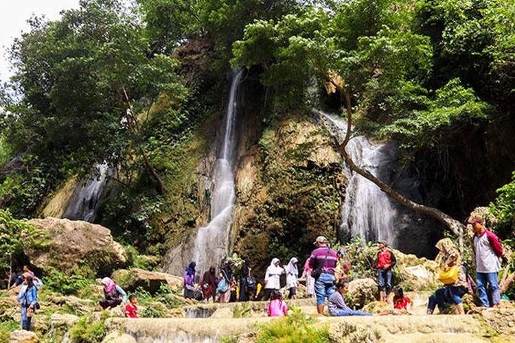 Air Terjun Sri Gethuk di Gunungkidul, Yogyakarta