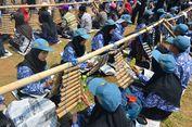 Meriahnya Festival Calung Renteng di Tasikmalaya