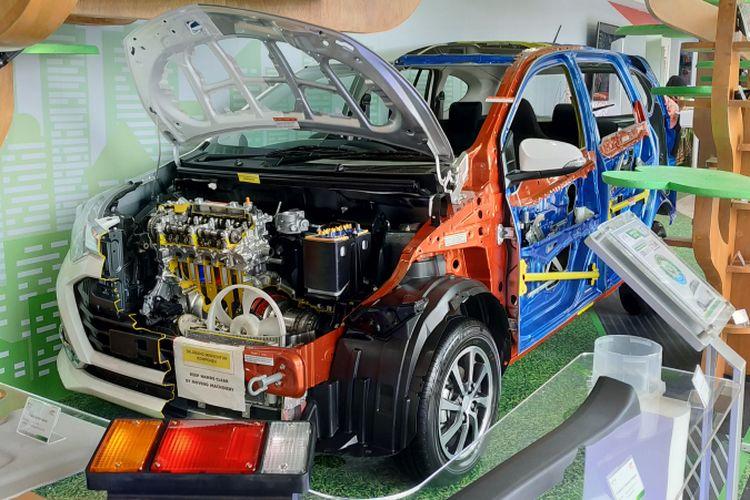 Produk binaan dari mitra Yayasan Dharma Bhakti Astra (YDBA) dipamerkan pada sebuah pameran otomotif skala nasional, di Tangerang, Banten. Foto diambil pada Jumat (10/8/2018).