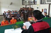 Dua Pembunuh Sopir Taksi Online di Palembang Divonis Hukuman Mati
