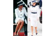 Datangi Istana Buckingham, Melania Trump Berbusana Bak Putri Diana