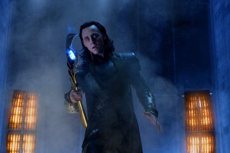Tom Hiddleston sebagai Loki dalam The Avengers (2012)