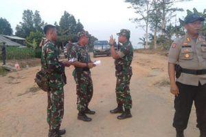 Bentrok Mesuji Lampung, Ratusan Polisi dan Anggota TNI Berjaga di Lokasi
