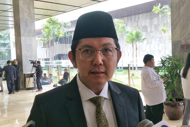 Sekjen Partai Keadilan Sejahtera (PKS) Mustafa Kamal di Kompleks Parlemen, Senayan, Jakarta, Jumat (16/8/2019).