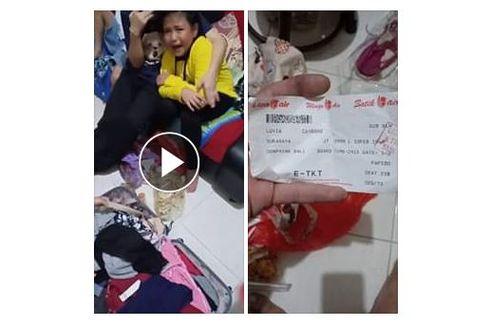Viral, Uang Angpau Anak Ini Hilang dalam Koper di Bagasi Pesawat Lion Air