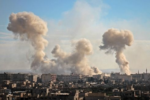 Dalam Sehari, Serangan Pasukan Suriah Bunuh 94 Orang di Ghouta