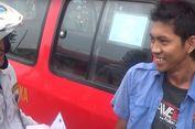 'Ngetem', Sopir Angkot di Pasar Minggu Dihukum Nyanyi 'Indonesia Raya'