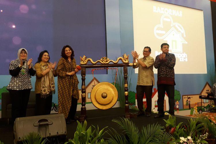 Direktur Jenderal Pengelolaan Limbah, Sampah, dan Bahan Beracun Berbahaya (PSLB3) KLHK Rosa Vivien Ratnawati di Grand Mercure Kemayoran, Jakarta Pusat, Senin (3/12/2018).