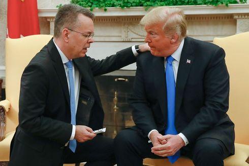 Pendeta AS yang Dibebaskan Turki Bertemu Trump di Gedung Putih