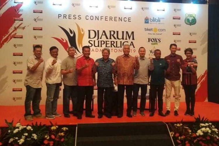 Djarum Superliga 2019  akan berlangsung di Sabuga, Bandung pada 18-24 Februari 2019.