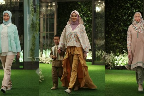 Koleksi Hijab Mandjha Edisi Lebaran dari Ivan Gunawan