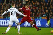 Swansea Bikin Liverpool seperti Mobil F1 pada Lalu Lintas Kota London