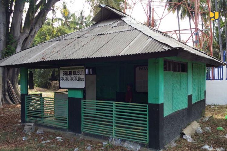 Balai Dusun Akar-Akar Utara di Desa Karang Bajo, Lombok Utara.