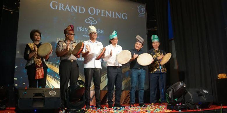 Grand Opening Prime Park Hotel Pekanbaru, Rabu (24/4/2019).
