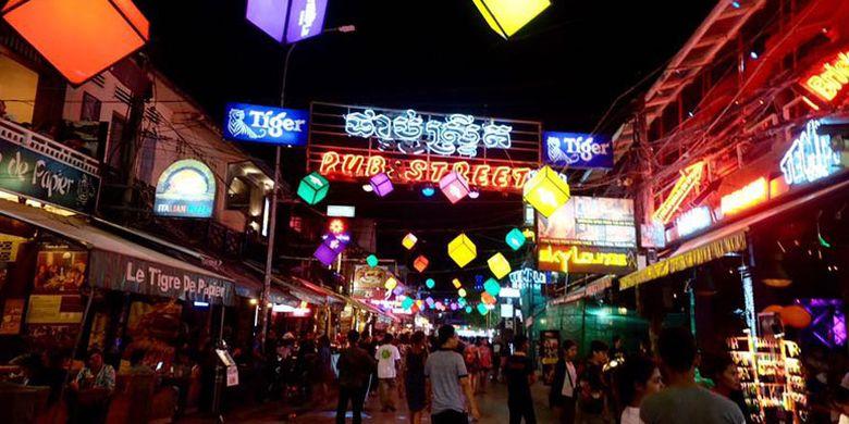 Hiburan Malam di Kamboja