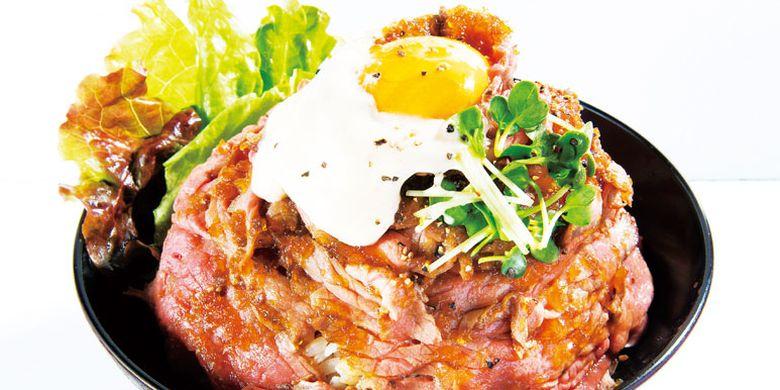 Red Rock Cabang Takadano Baba merupakan restoran terkenal yang berasal dari Kobe, Jepang, ini memiliki menu andalan bernama roast beef don.