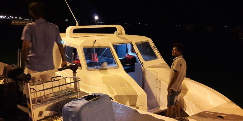 Club Med Kani Maladewa menyiapkan boat untuk antar-jemput tamu dari Bandara Velana menuju resor.