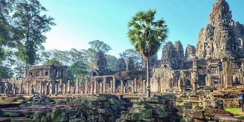 Kuil Bayon di Kamboja