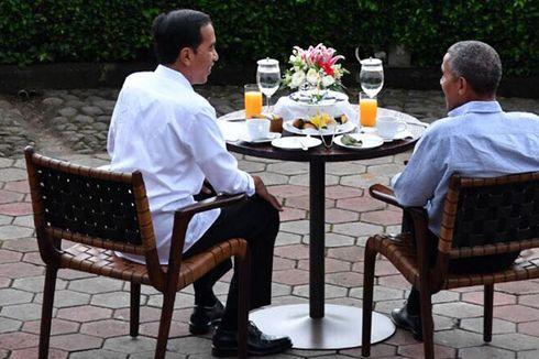 Jokowi, Obama, Bakso, dan Teh Hangat...