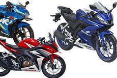 Adu Lari R15, CBR150R, dan GSX-R150
