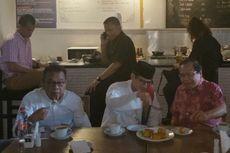 Saat Rizal Ramli dan Sandiaga Bahas Pilpres 2019 di Kafe Balai Kota