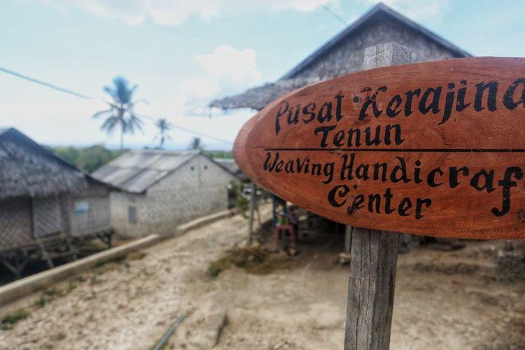 Mengenal Pajam, Desa Tertua Perajin Tenun Wakatobi