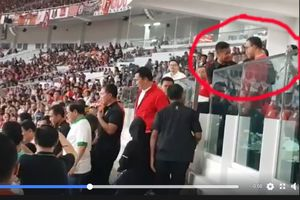 Viral, Video Anies dan Paspampres di Laga Persija Versus Bali United