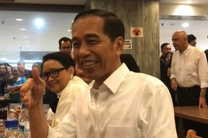 Jokowi Santap Bebek Goreng Pak Ndut Seharga 9,9 Dolar di Singapura