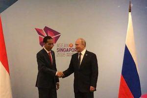 45 Menit Bertemu, Ini Isi Pembicaraan Jokowi dengan Vladimir Putin