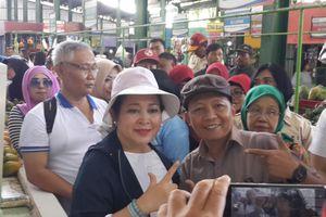 Titiek Soeharto Terkejut Dengan Kondisi Pasar Oro-Oro Dowo Kota Malang