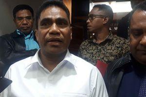 Jadi Tersangka, Sekda Papua Minta Maaf kepada Pimpinan dan Pegawai KPK