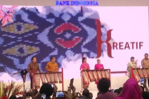 Iriana Joko Widodo Buka Pameran Karya Kreatif Indonesia 2018